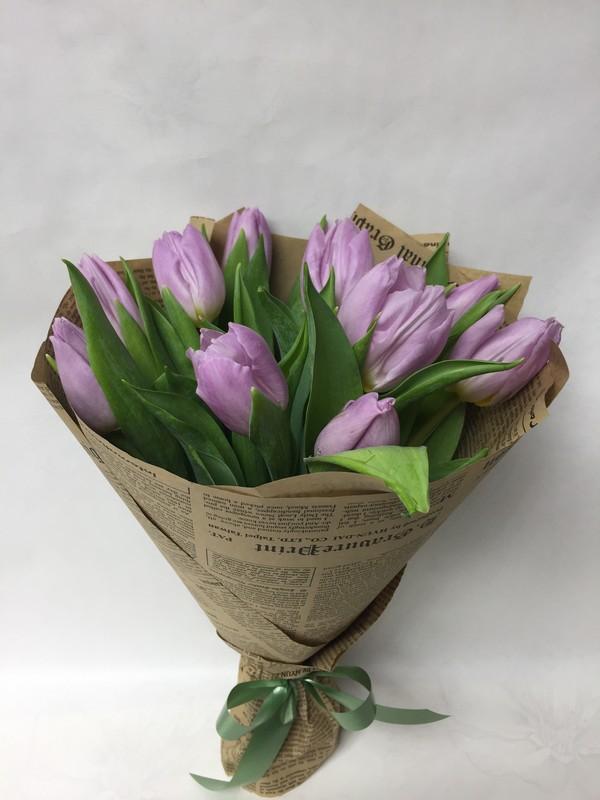 Букет из 40 тюльпанов фото, цветов