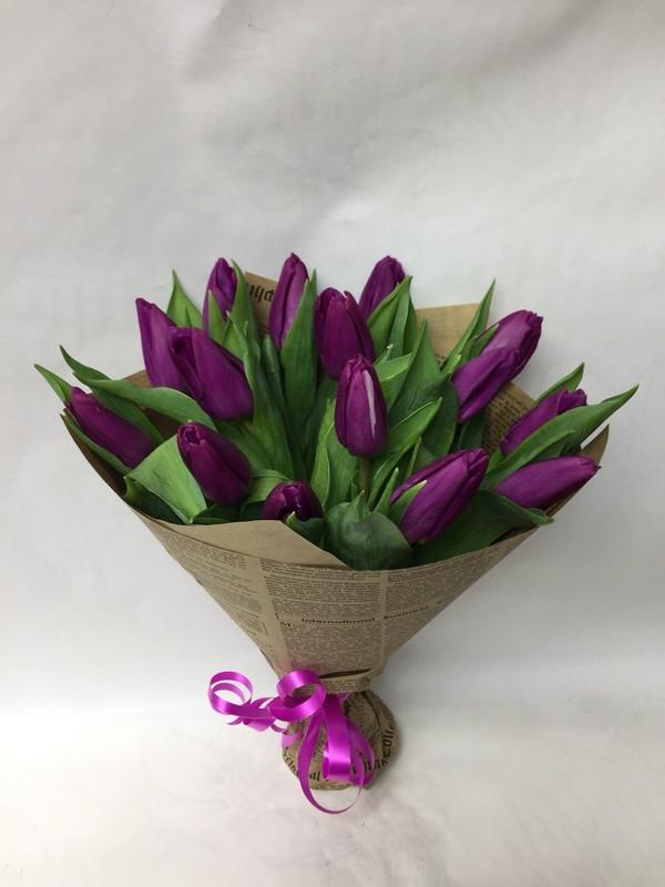 Букет из тюльпанов до 1000